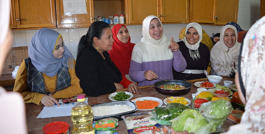 Quinoa is slowly entering the rural Egyptian diet as an increasing number of women learn of its nutritional benefits and other qualities.