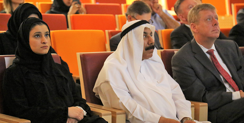 H.E. Sarah bint Youssef Al Amiri, Minister of State for Advanced Sciences, was also in attendance at the event.