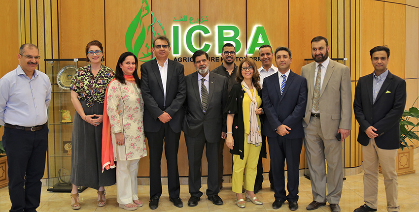 The main purpose of the MoU is to increase cooperation between ICBA and KP-BOIT in the province in areas of common interest, including climate-smart agriculture, crop, soil and water management in salt- affected areas, impact assessment and management of extreme climate events, especially drought, biosaline agroforestry using salt-tolerant trees and grasses, and water-harvesting technologies.