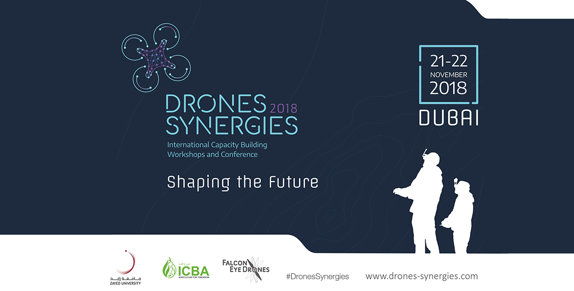 The conference, running from 21 to 22 November 2018 at the Convention Center of Zayed University Campus in Dubai, brings together policymakers, government officials, researchers, drone manufacturers, software developers, service providers, and enthusiasts.