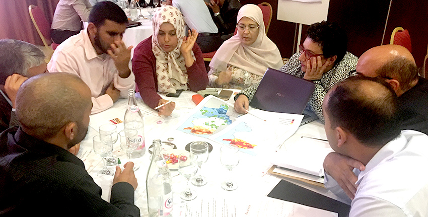 Over 90 Tunisian specialists and researchers attended a two-day training workshop on validating Tunisia's drought monitoring system.