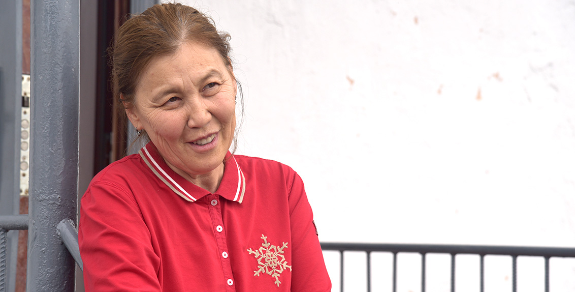 A few years ago Ms. Manshuk Jeksembekova returned to Kazakhstan. Today she is running her own agri-business.