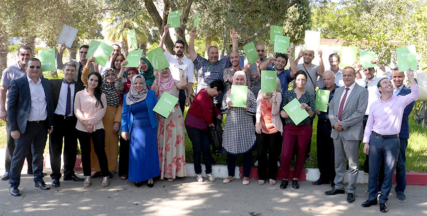All participants received certificates of completion at the end of the training course.