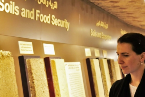 UAE Minister of State for Food Security visits ICBA to discuss collaboration