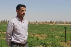Thirty-year-old Mohammad Al Fayaz knows first-hand what water scarcity is. His village of Umm Rumaneh, where he returned upon graduation with a law degree to help his father and brother with farming, is the only village in Al Jizah District, south of Amman, where no underground water has been found.