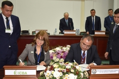 The International Center for Biosaline Agriculture (ICBA) and the Ministry of Innovative Development of Uzbekistan signed a memorandum of understanding to establish an international innovation center for the Aral Sea Basin under the President of the Republic of Uzbekistan.